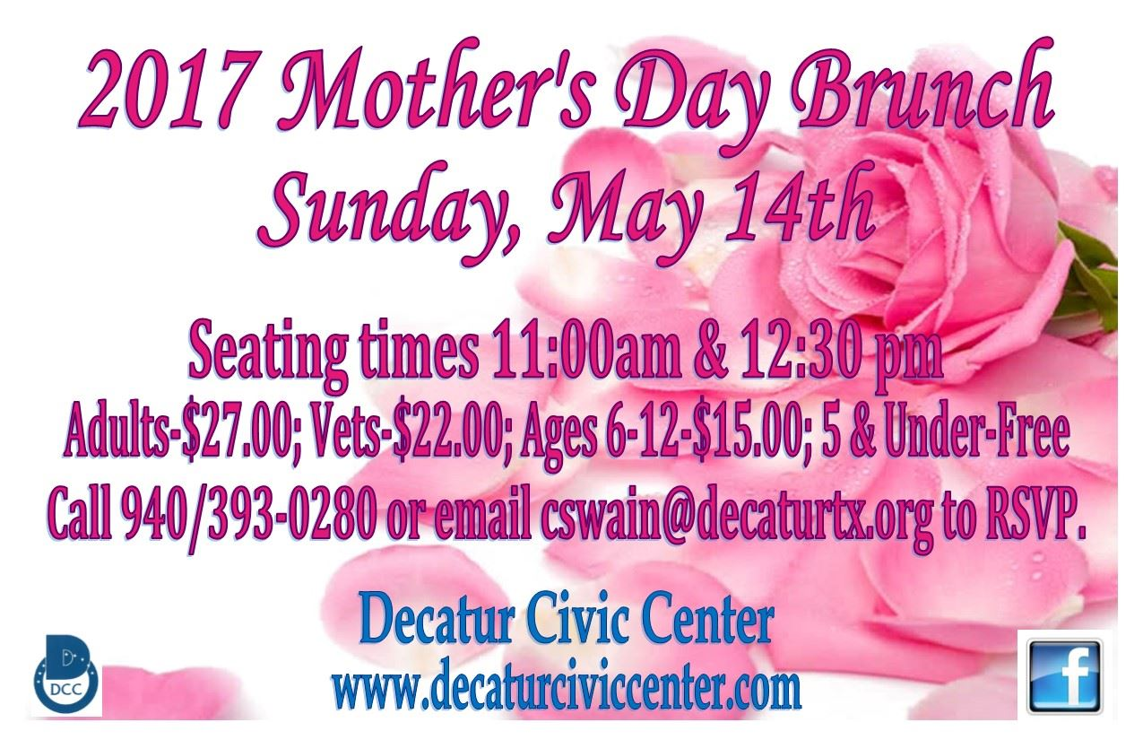 mothers day flier
