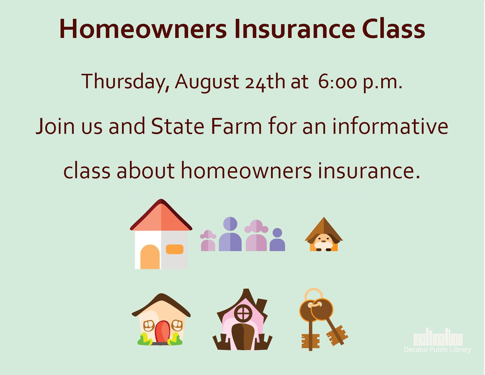 Homeowners Insurance Class